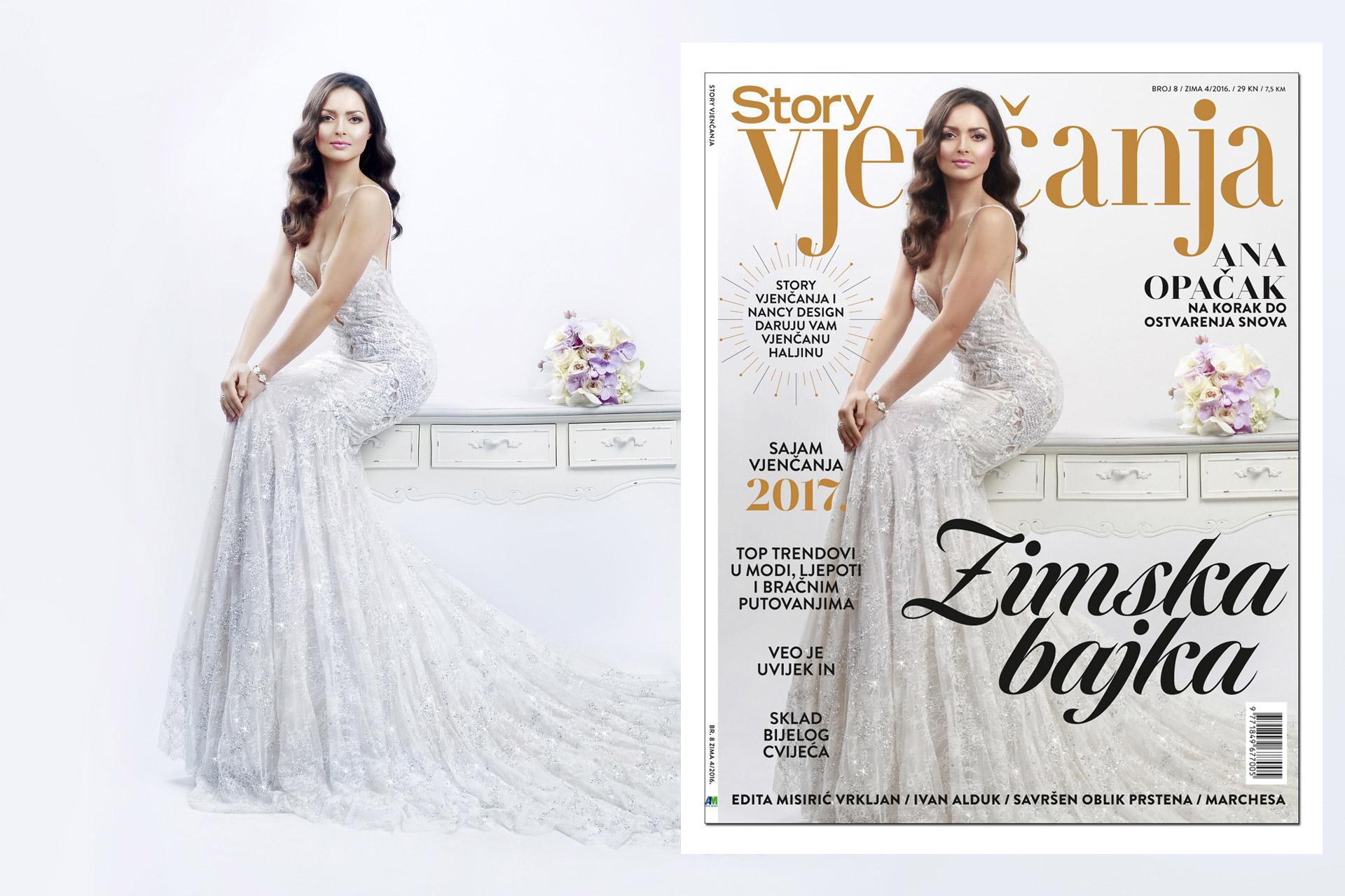 Story Vjencanja editorial, cover & bilboard shooting